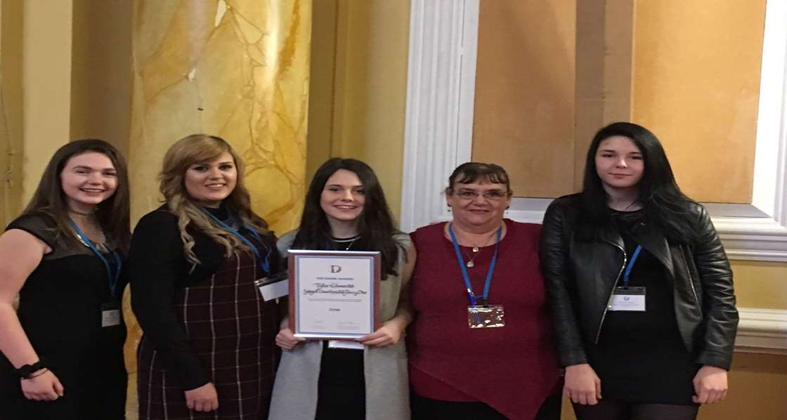 Pen y Dre pupil wins a well- deserved  Diana Award