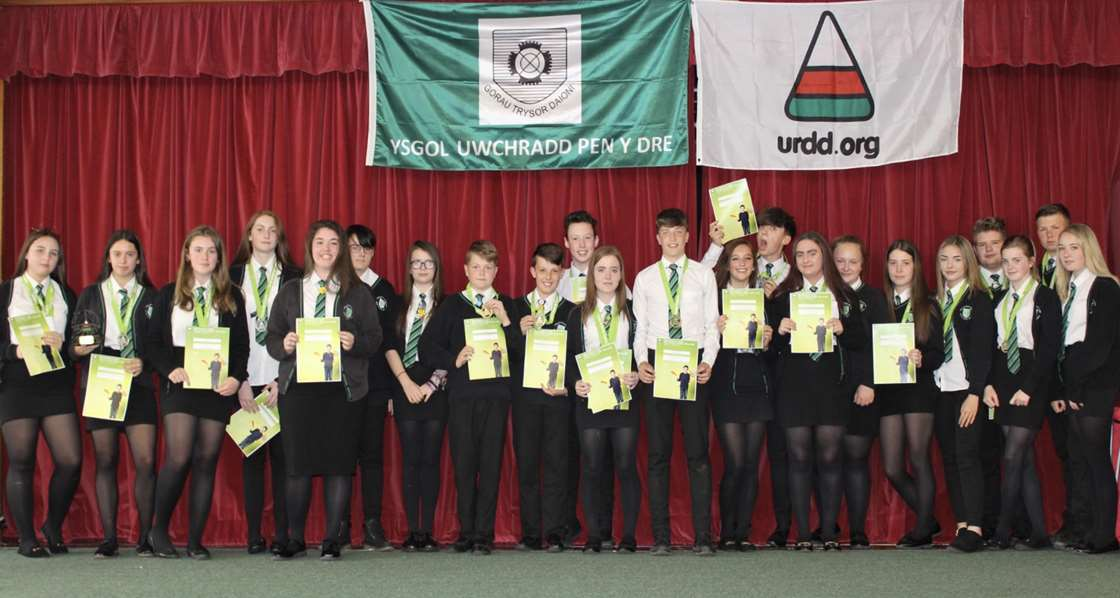 Winners of the Urdd Eisteddfod 2017