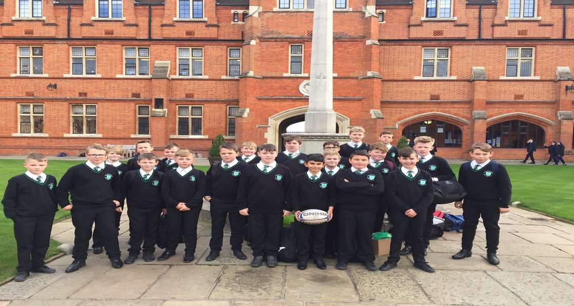 Year 7 Rugby Tour to Bancroft's School London