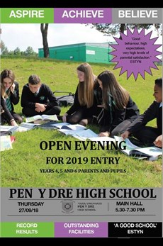 Open Evening for 2019 entry