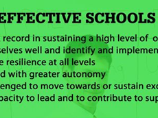 GREEN A  School Categorisation