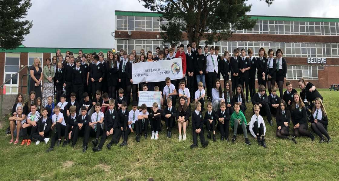 Year 8 pupils raise over £4000 for Cancer Charity