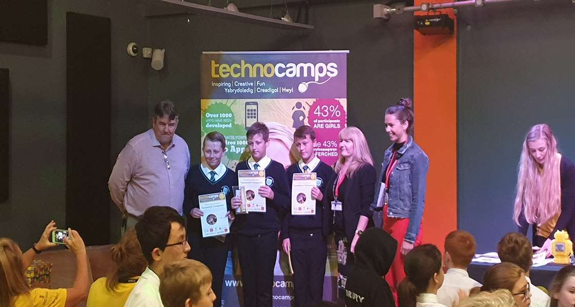 Technocamps Robotics Competition Award 2019