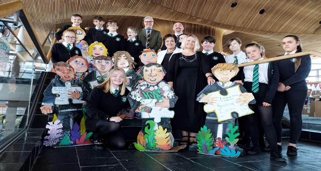MERTHYR PUPILS HELP CHARITY MARK ITS CENTENARY THROUGH ASPIRING ARTWORK